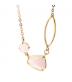 Collier Pierres Fines Transparentes - Griffé Multi Rose Opal